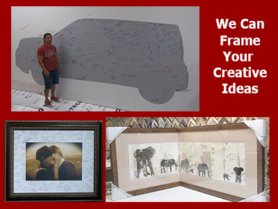 We frame your creative ideas