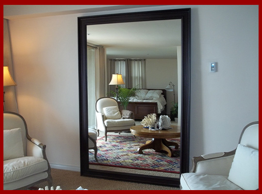 Custom leaning mirrors - dressing mirrors - any size