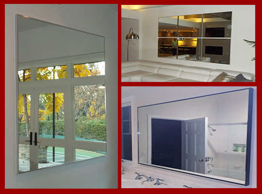 Popular thin metal frame mirrors